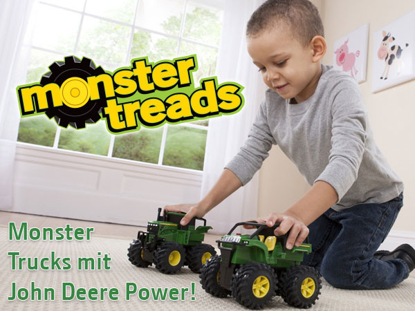 Monster Trucks mit John Deere Power