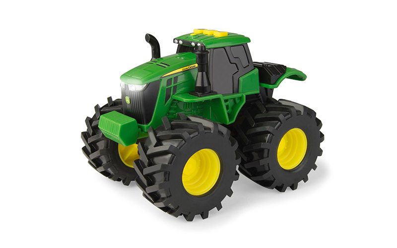 monster treads light &sounds tractor