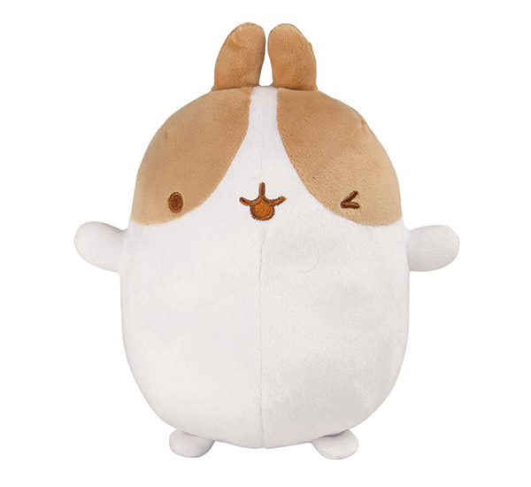 basic plush brown and white molang