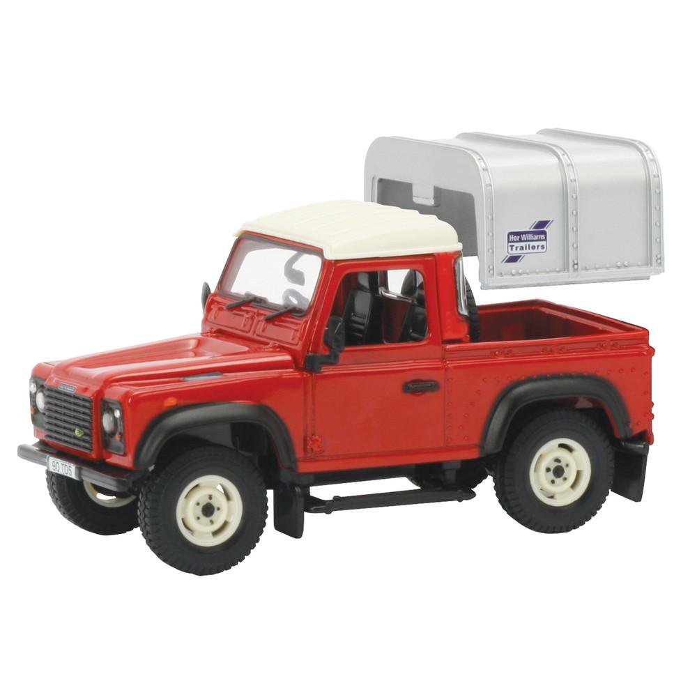 Land Rover - Defender 90 mit Verdeck