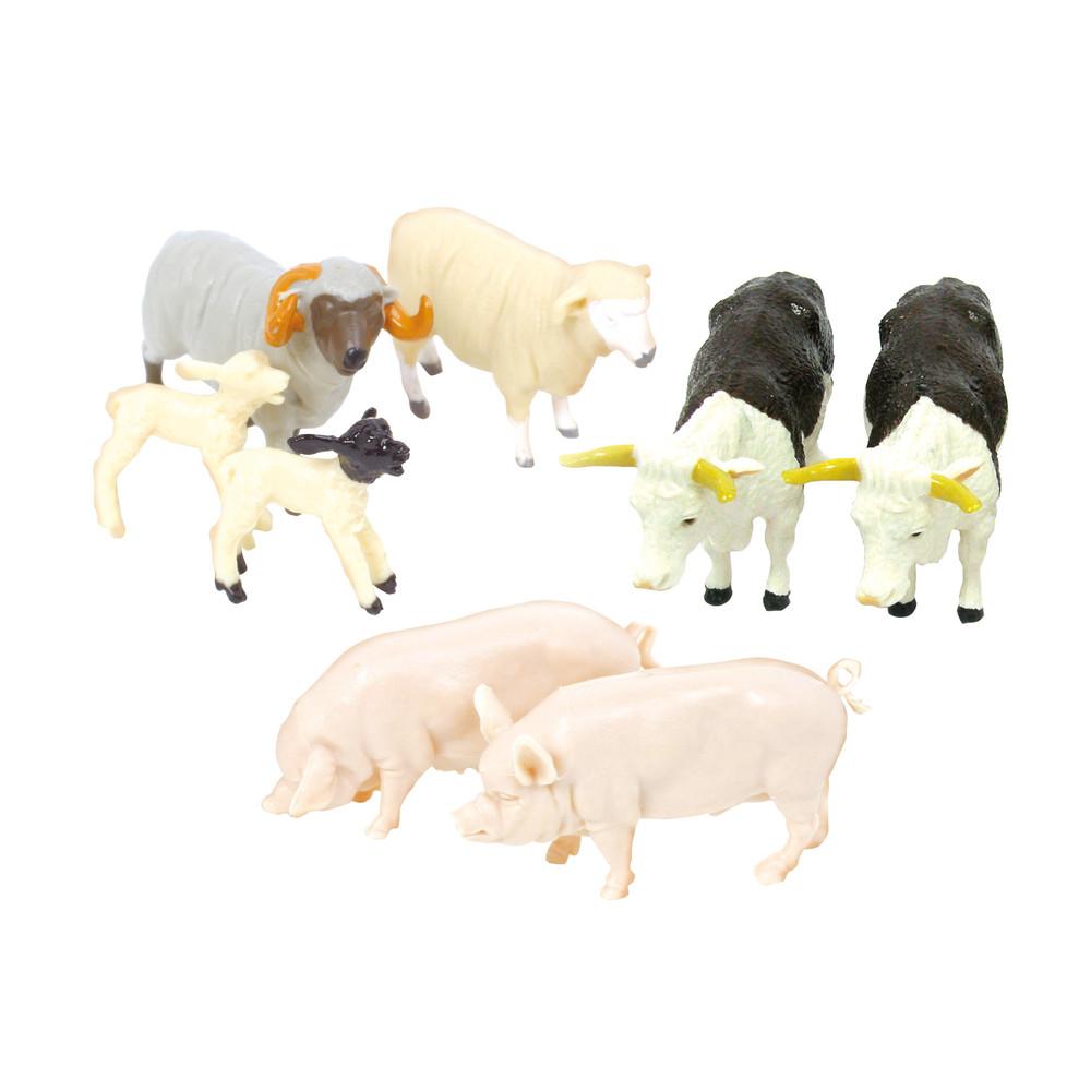 Bauernhoftiere (gemischtes Set)