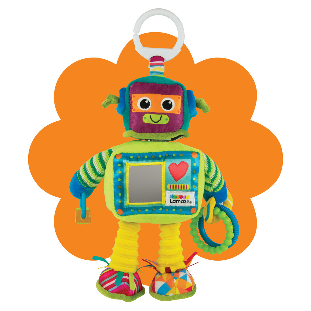 Clip & Go Rusty der Roboter