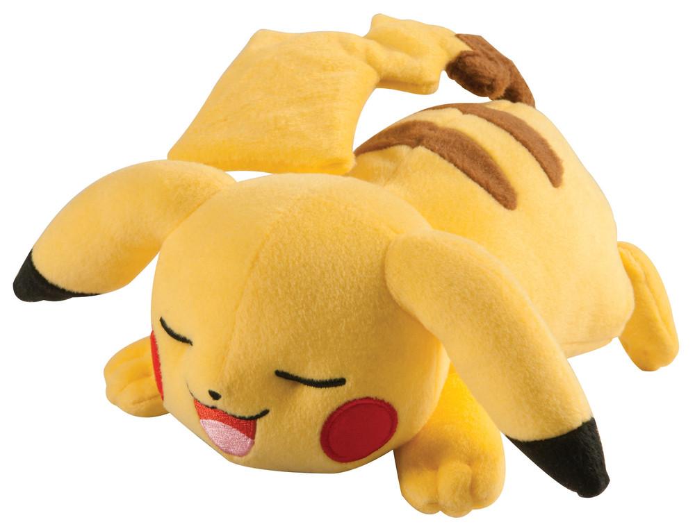 Pikachu Plüsch (schlafend)