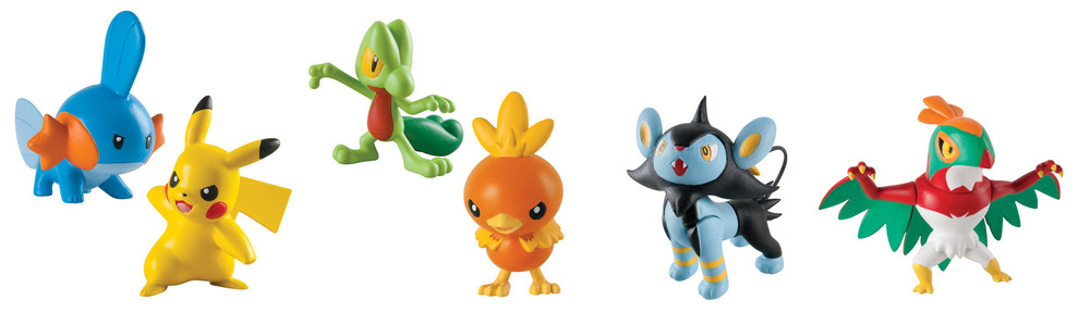 Pokémon Actionfigur - Sortiment