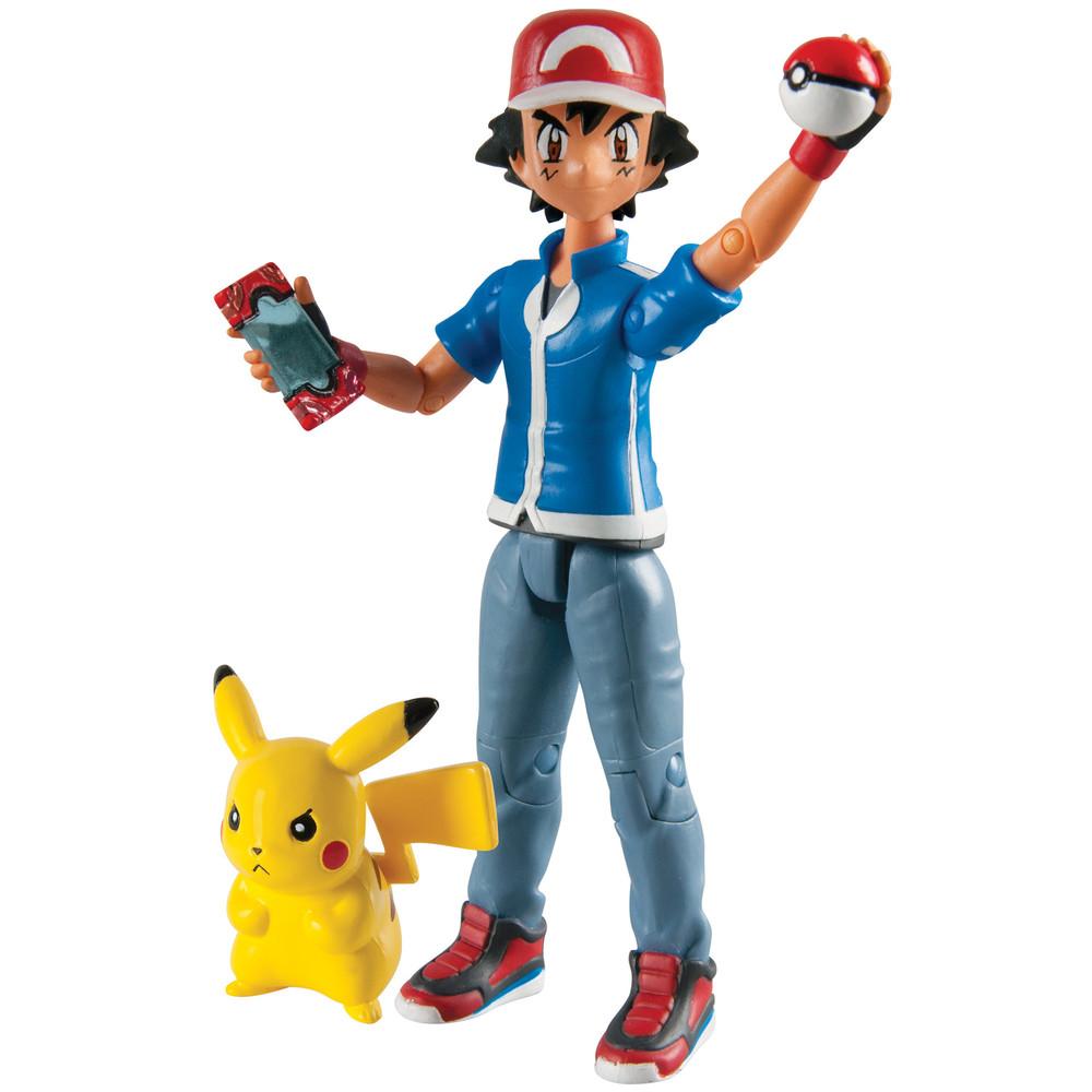 Ash und Pikachu - Actionfigur