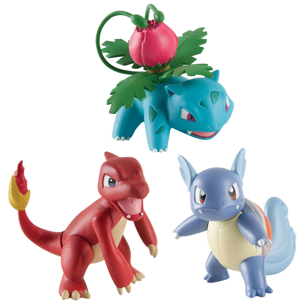 3er Pokémonfiguren Set Sortiment
